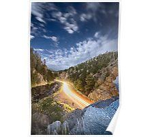 Boulder Canyon Dream Poster