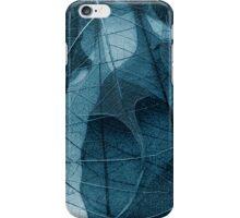 delicate in blue iPhone Case/Skin