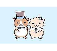 Hamster Wedding Couple Photographic Print