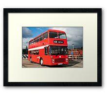 United Bus Framed Print