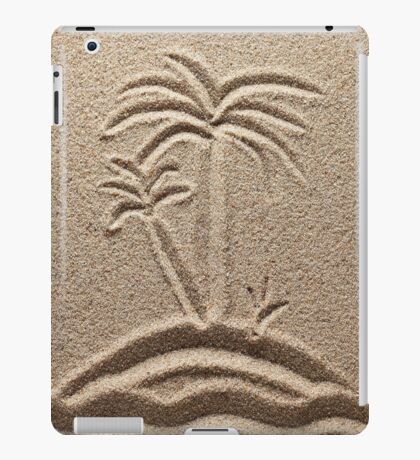 Ocean Island Beach Sand Palm iPone Case / iPad Case / Samsung Galaxy Case / Tote Bag / Pillow   iPad Case/Skin