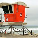 Lifeguard Station #4  by paintingsheep