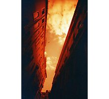 Sky Canal - Lomo Photographic Print