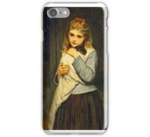 Charles Sillem Lidderdale - Foster Mother 1884 iPhone Case/Skin