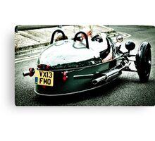 3 Wheeler Car Canvas Print