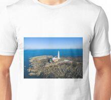 St Mary's Lighthouse, Whitley Bay Unisex T-Shirt