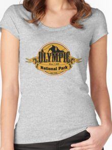 Olympic National Park, Washington Women's Fitted Scoop T-Shirt