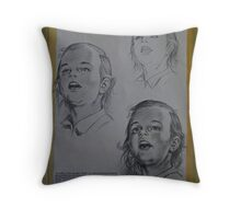 Banos Art Instruction II Throw Pillow