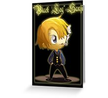 Sanji Chibi Greeting Card