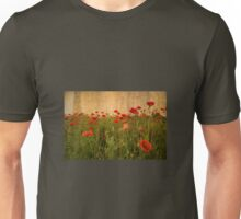 In Flanders Fields the poppies blow  Unisex T-Shirt
