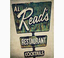 Al Read's Restaurant Vintage Sign Unisex T-Shirt