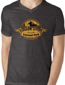 Yellow Stone National Park, Wyoming Mens V-Neck T-Shirt