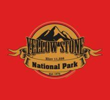 Yellow Stone National Park, Wyoming Kids Tee