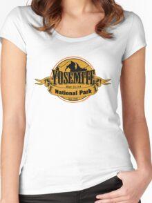 Yosemite National Park, California Women's Fitted Scoop T-Shirt