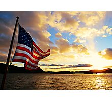 One Nation Under God Photographic Print