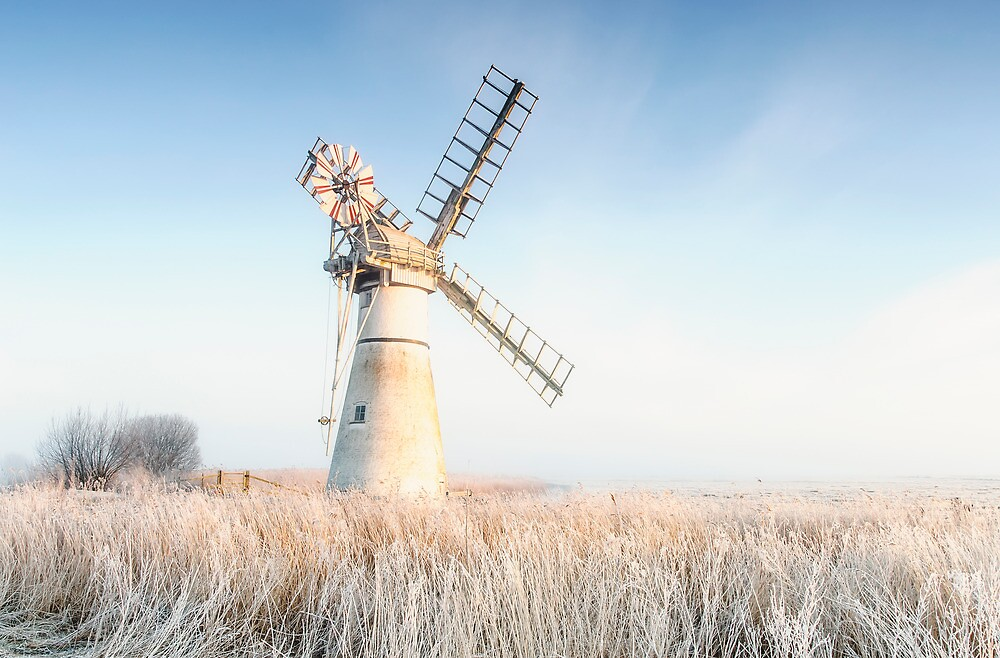 Thurne drainage mill. by fulhamphil