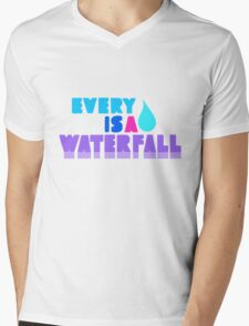 Every Teardrop Is A Waterfall Mens V-Neck T-Shirt
