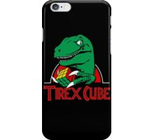 Funny Tirex Rubik Cube iPhone Case/Skin