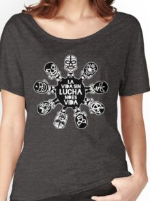 LA VIDA SIN LUCHA NO ES VIDA5 Women's Relaxed Fit T-Shirt