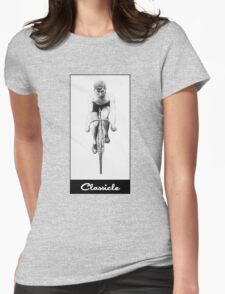 Classicle Cyclists T-Shirt Womens Fitted T-Shirt