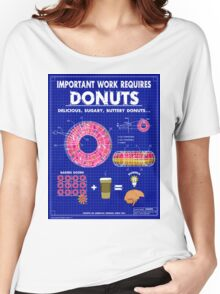 Donuts Women's Relaxed Fit T-Shirt
