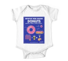 Donuts One Piece - Short Sleeve