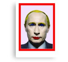 Russia'a Fool Canvas Print