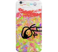 mimios rainbow graffiti iPhone Case/Skin