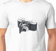 Classic Viogtlander Vito II 35mm Film Rangefinder Camera - Retro/Old/Vintage & Stylish!  Unisex T-Shirt