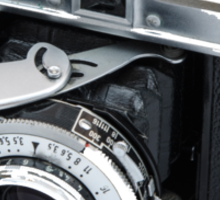 Classic Viogtlander Vito II 35mm Film Rangefinder Camera - Retro/Old/Vintage & Stylish!  Sticker