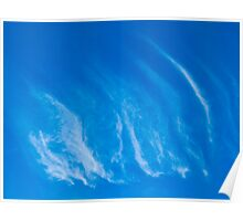 Ripple Clouds Poster