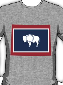 Wyoming | Flag State | SteezeFactory.com T-Shirt