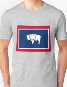 Wyoming | Flag State | SteezeFactory.com Unisex T-Shirt