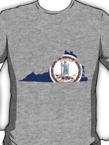Virginia | Flag State | SteezeFactory.com T-Shirt