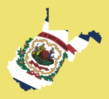 West Virginia | Flag State | SteezeFactory.com T-Shirt