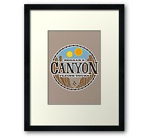 Beggars Canyon Tours Framed Print