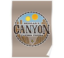 Beggars Canyon Tours Poster