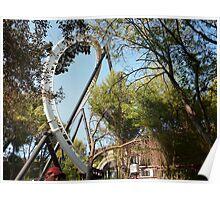 Full Throttle Roller Coaster Poster