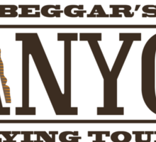 Beggars Canyon Tours Sticker