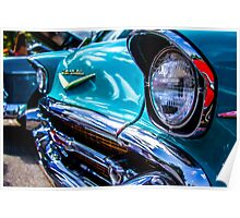 Classic Chevy Grill - 2 Poster