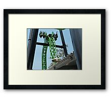 Green Lantern: First Flight Framed Print