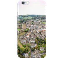 Richmond, North Yorkshire - Aerial Photograph iPhone Case/Skin