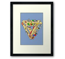 The Impossible Board Game Framed Print