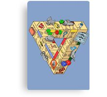 The Impossible Board Game Canvas Print