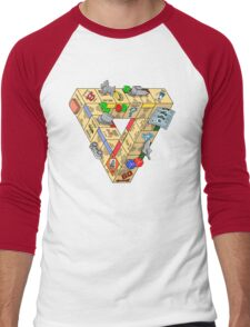 The Impossible Board Game Men's Baseball ¾ T-Shirt