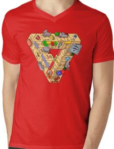 The Impossible Board Game Mens V-Neck T-Shirt