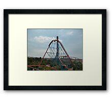 Goliath Roller Coaster Framed Print
