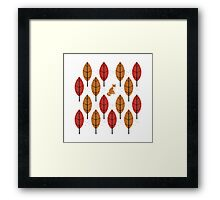 Autumn Fox Framed Print