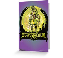 SewerRealm -Yellow Greeting Card