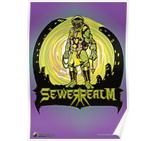 SewerRealm -Yellow Poster